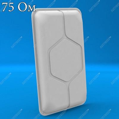 Antex AGATA F 75 Ом - Антенна широкополосная панельная 2G/3G/4G/WIFI купить характеристики