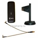ZTE MF825 (830FT) МТС Мегафон Билайн 3G 4G LTE USB модем универсальный  с внешней антенной широкополосной и переходником купить характеристики