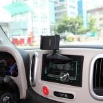 Ppyple CD-N5 black Автомобильный держатель купить Держатель предназначен для использования совместно с коммуникаторами и навигаторами с размером экрана 3,5-5,5 дюйма в диагонали 55-85 мм по высоте и т