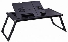 Отзывы о складных столиках для ноутбука планта массажер для глаз