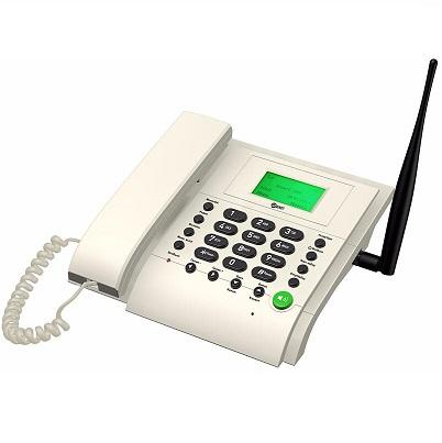 Kit MT3020w Стационарный сотовый телефон GSM под сим карту (Даджет) (белый) купить стационарный телефон под SIM-карту Мощная антенна для хорошего качества связи Громкая связь Определитель номера Прост