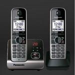 Panasonic KX-TG6722RU беспроводной телефон DECT купить АОН голосовой, дисплей, часы, будильник, индикатор входящего,подсветка, на стену, радионяня