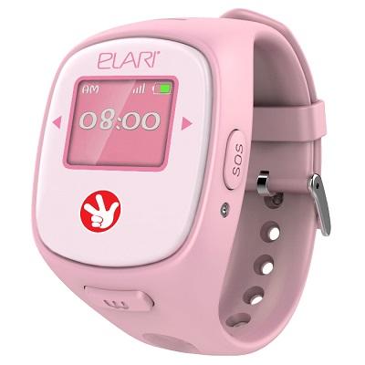 Fixitime Smart Watch ELARI 2 розовые умные часы для детей с GPS/LBS/WiFi трекером GSM