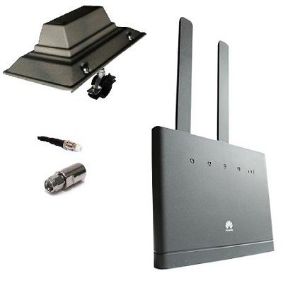 Huawei B310s-22 с антенной направленной 4G 3G WiMAX LTE Cat4 WIFI роутер универсальный