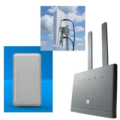 Huawei B310s-22 шлюз с антенной MIMO WIFI LTE-A панельной направленной