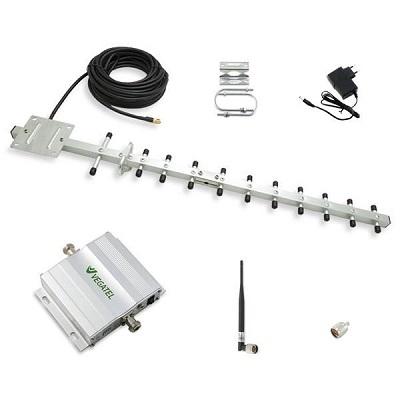 VEGATEL VT-3G-kit Репитер усилитель 3g (2100) gsm сигнала (комплект) купить Комплект оборудования для системы усиления сотового сигнала в стандарте 3G. Комплект предназначен для самостоятельной устано