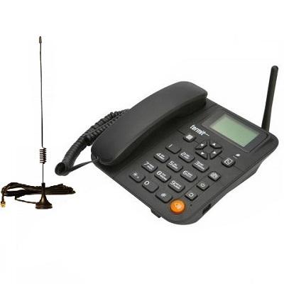 Termit FixPhone v2 rev.3.1.0 Стационарный сотовый телефон GSM под сим карту с антенной на кабеле