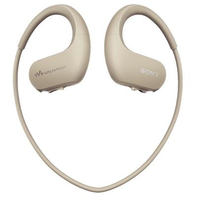 SONY NW-WS413 flash MP3 плеер водонепроницаемый 4Гб кремовый