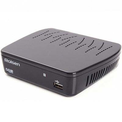ROLSEN RDB-514A DVB-T2 ТВ-ресивер приставка