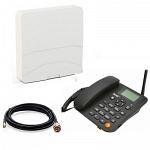 Termit FixPhone 3G С антенной стационарный сотовый телефон GSM 3G под сим карту