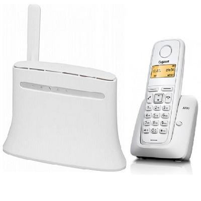 Комплект SHOPCARRY SIM 283-1W стационарный сотовый радио DECT телефон GSM/4G/3G WIFI и роутер универсальный