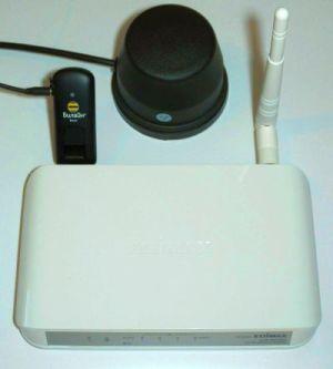 3G wifi роутер с внешней 3G антенной (Комплект Edimax 3G-6200N, ZTE MF170, 3G антенна)
