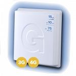 GELLAN FULL BAND - 15F 3G 4G разъём F Внешняя панельная антенна
