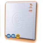 GELLAN FULL BAND - 18MF MIMO 3G 4G разъём F Внешняя панельная антенна