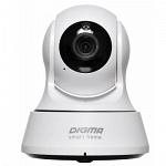 Digma DiVision 200W P2P ip камера видеонаблюдения wifi поворотная с удаленным доступом Белый