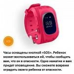 Кнопка жизни K911 Детские часы-телефон с GPS трекером (черные)