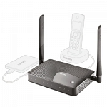 Zyxel Keenetic III (KEENETIC III) 10/100BASE-TX черный Маршрутизатор беспроводной Интернет-центр с Wi-Fi N300, портом USB и адаптером цифровой телефонии