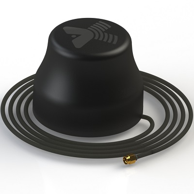 MAGNITA-1 черная Антенна GSM 3G WiFi 4G круговая магнитная 7Дб кабель RG58 3м SMA-male