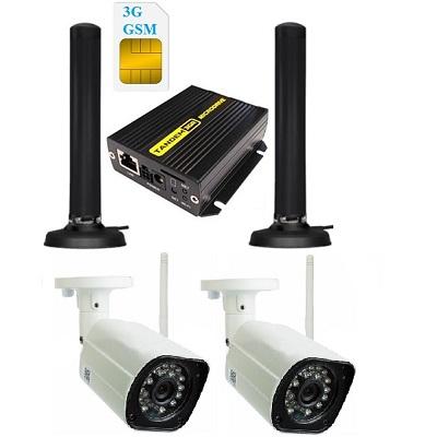 ShopCarry Cam Street 32 уличная 3g камера видеонаблюдения (2-е камеры)(комплект)