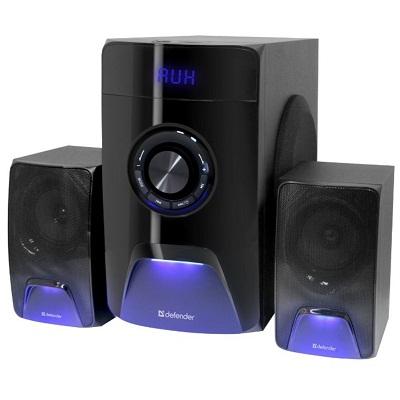 Defender X500 50Вт Акустическая 2.1 система, Bluetooth, FM/MP3/SD/USB