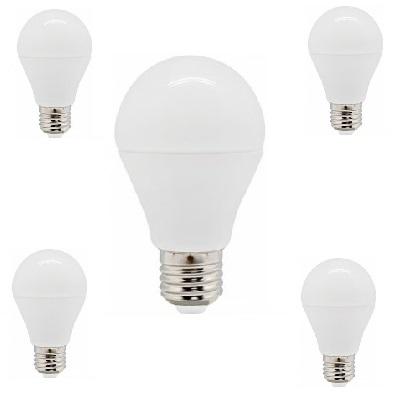 Лампа LED A60 E27 10W 4000K 820Lm 220V STANDARD Lamper в комплекте 5 шт