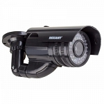 REXANT Муляж камеры уличной цилиндрическая черная