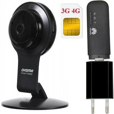 ShopCarry Cam100-1 4G 3G камера видеонаблюдения (комплект)
