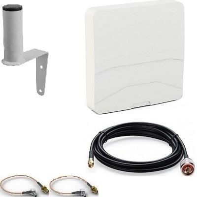 ShopCarry Volna N2СRC 10м усилитель интернет сигнала для 3G GSM Роутера и Модема с разъемом SMA CRC9