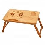 Bamboo 2 Столик для ноутбука складной купить охлаждение ноутбука — активное, 2 вентилятора питание вентиляторов — USB-порт ноутбука, габаритные размеры в разложенном виде — 55x35 см
