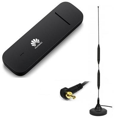 Huawei E3372h-153 4G модем USB с 3G антенной