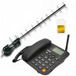 Termit FixPhone v2 rev.3.1.0 с Антенной Стационарный сотовый телефон GSM под сим карту