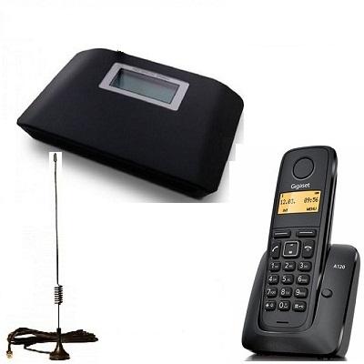 Комплект ShopCarry SIM v231 стационарный сотовый радио DECT телефон GSM