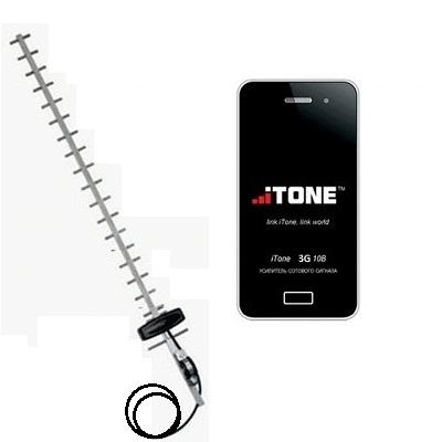 iTone 3G-10B - Репитер усилитель 3G сигнала с антенной направленной