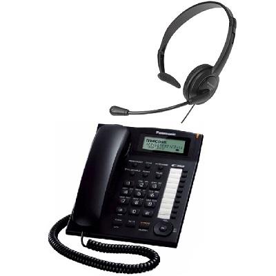 Комплект SHOPCARRY HF 400 стационарный телефон для офиса с Гарнитурой hands free