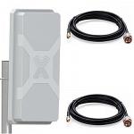 Antex NITSA-5 MIMO 2x2 с кабелем 2м х 2 SMA  антенна внешняя 4G/3G/2G/WIFI LTE-A широкополосная панельная