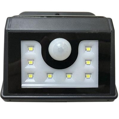 Lamper LED светильник настенный на солнечных батареях с датчиком движения 8 LED