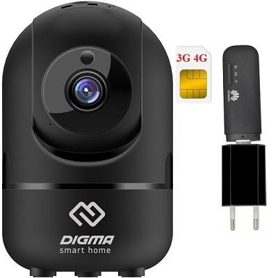 ShopCarry Cam361B-1 камера видеонаблюдения 3g 4G поворотная (комплект)