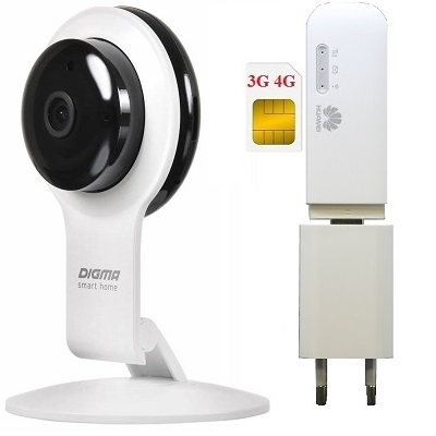 ShopCarry Cam100-1W 4G 3G камера видеонаблюдения (комплект)