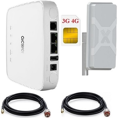 ShopCarry A70NM 4G Wi-Fi роутер с внешней антенной до 300 мБит с.