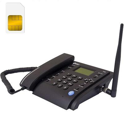 MT3020 стационарный сотовый телефон gsm под сим карту чёрный