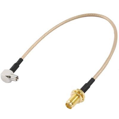 Переходник для 2g 3g 4g модема на внешнюю антенну разъем TS9 SMA-fem купить оптом и в розницу