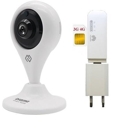 ShopCarry Cam101w-1 4G 3G камера видеонаблюдения сим (комплект)