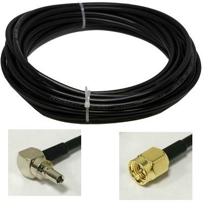 Кабель 4 метра Rg-58 Sma-male и Crc9 разъемы кабельная сборка Shopcarry