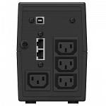 Источник бесперебойного питания Ippon Back Power Pro Ii 400 240вт 400ва черный