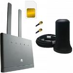Huawei B315s-22 с антенной ShopCarry M2 4G 3G LTE GSM WiFi роутер универсальный