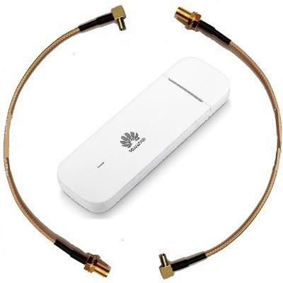Huawei E3372h-153  4G LTE 3G 2G GSM GPRS USB модем универсальный с переходниками под антенну CRC9 SMA 2ш