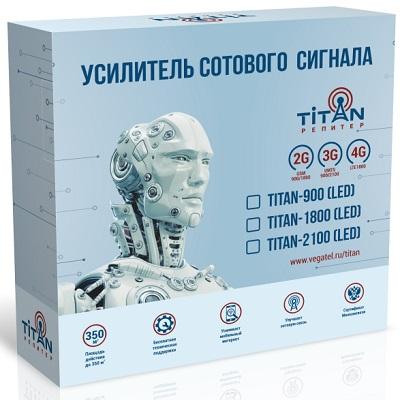 Titan-900 (led) Комплект репитер 900 Мгц