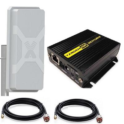 Tandem-4gr-2 4g/3g Роутер С Поддержкой Poe с Антенной уличной Mimo и 2х10 метра кабель