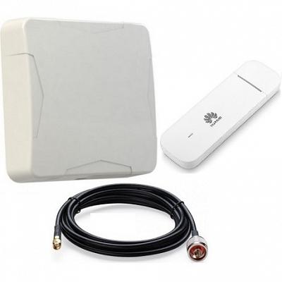 Huawei E3372h-153 с NITSA-5 Модем 4G 3G GSM с антенной направленной уличной панельный