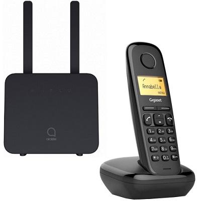 Shopcarry SIM 42-1 стационарный сотовый телефон 4g 3g Gsm с радиотрубкой под сим карту (комплект)